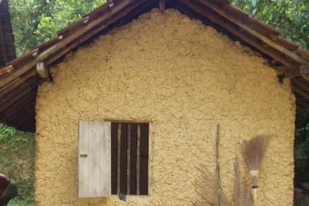 Adobe house, Elamaldeniya, Sri Lanka