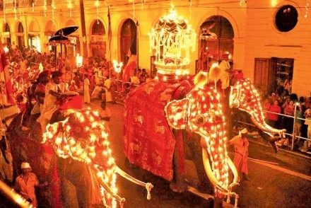 Kandy Esala Perahera, Kandy, Sri Lanka (courtesy of The Sunday Observer)