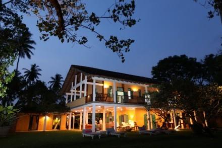 The Last House at dusk, Tangalle, Sri Lanka
