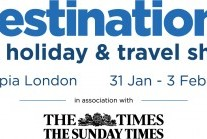 Destinations: The Holiday & Travel Show, Olympia London from 31 January to 03 February 2019