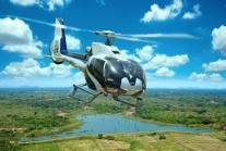 AIRBUS EC 130 B4 helicopter of IWS Aviation, Sri Lanka