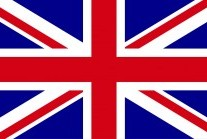 Union Jack flag of Great Britain