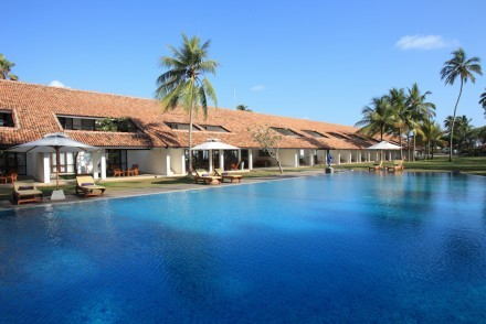 Pool and hotel, AVANI Bentota Resort, Bentota, Sri Lanka