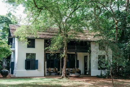 Main house, Boutique 87, Bentota, Sri Lanka