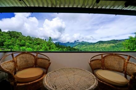 View from Clove Tree Cottage, Ella, Sri Lanka