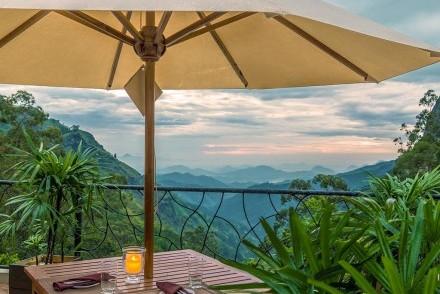 Wonderful view through Ella Gap from EKHO Ella, Ella, Sri Lanka