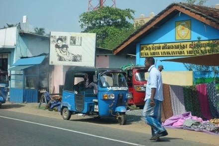 Street scene, East Coast, Sri Lanka