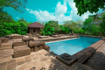 Swimming pool, Forest Rock Garden Resort, Anuradhapura, Sri Lanka
