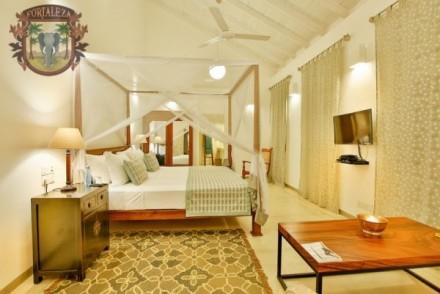 Balcony bedroom, Fortaleza No. 50 Lighthouse Street, Galle, Sri Lanka