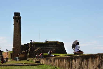 Old Dutch Fort ramparts, Galle, Sri Lanka
