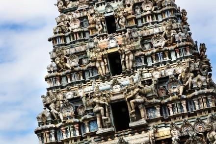 Hindu devale, Kandy, Sri Lanka