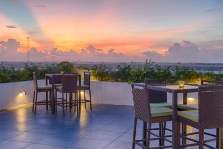 Rooftop bar, Jetwing Jaffna, Jaffna, Sri Lanka