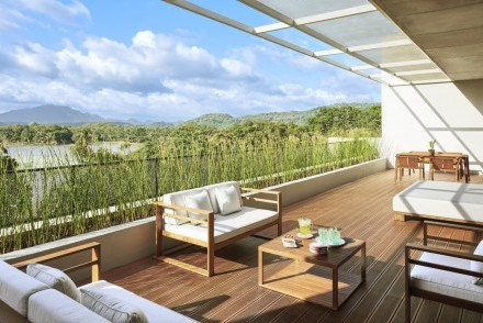 Suite balcony, Jetwing Lake, Dambulla, Sri Lanka