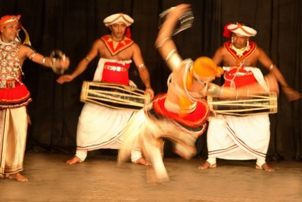 Kandyan dancers and drummers, Kandy, Sri Lanka