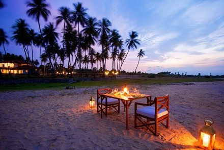 Candlelit dinner on the beach, Kottukal Beach House by Jetwing, Arugam Bay, Sri Lanka