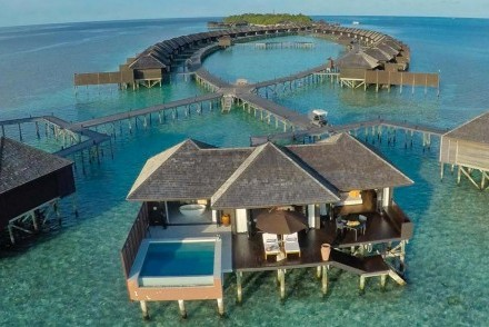 Water Villas, Lily Beach Resort & Spa, South Ari Atoll, Maldives