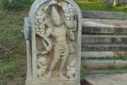 Guardstone, Mahavihara, Anuradhapura, Sri Lanka