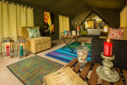 Mahoora Elite tent, Sri Lanka