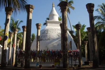 Ambasthala Dagoba, Mihintale, Sri Lanka