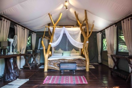 Luxury Lodge Tent, Noel Rodrigo's Leopard Safaris, Yala, Sri Lanka