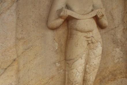 Statue of Parakramabahu-Agastaya, Southern Group, Polonnaruwa, Sri Lanka