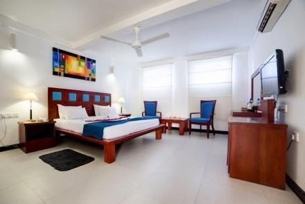 Deluxe Room, Pigeon Island Beach Resort, Nilaveli, Sri Lanka