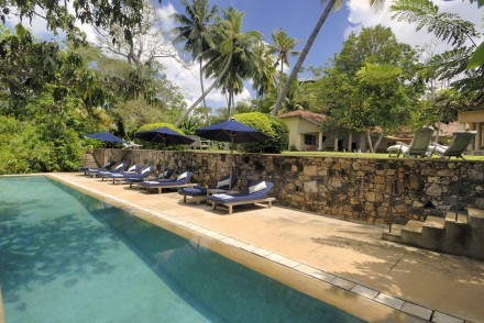 Pool and garden, The Dutch House, Galle, Sri Lanka