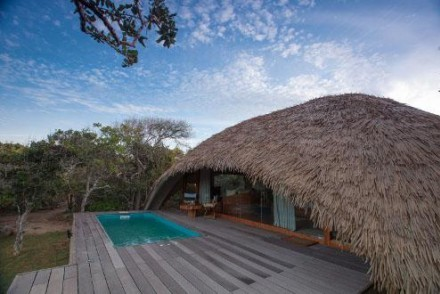 Luxury Cabin with Pool at Uga Chena Huts, Yala, Sri Lanka