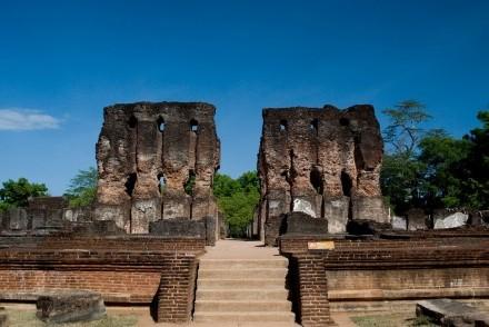 Vejayanta Pasada, Royal Citadel Group, Polonnaruwa, Sri Lanka