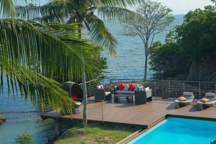 Lagoon terrace, Villa Hundira, Negombo, Sri Lanka