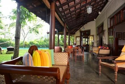 Veranda, Villa Talangama, Colombo, Sri Lanka