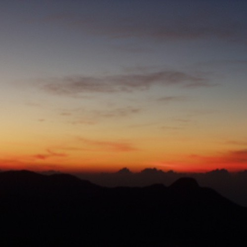 Sunrise from Adam's Peak, Sri Lanka