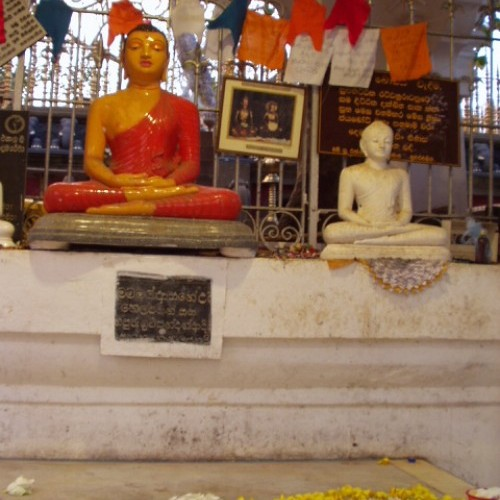 Buddhist shrine, Sri Maha Bodhi, Anuradhapura, Sri Lanka