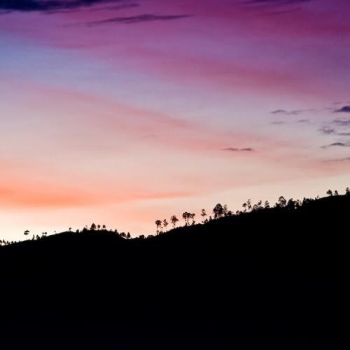 Sunset at Ella, Sri Lanka