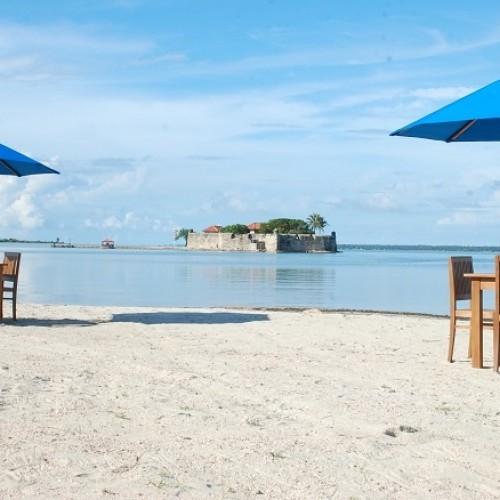 Fort Hammenhiel Resort near Jaffna, Sri Lanka