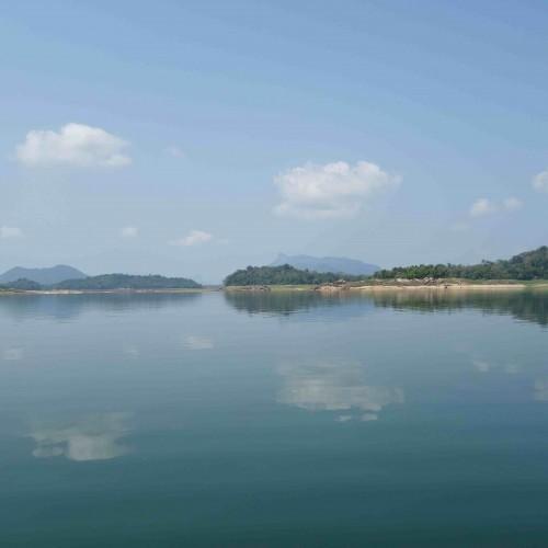 Senanayake Samudra lake, Gal Oya National Park, Sri Lanka