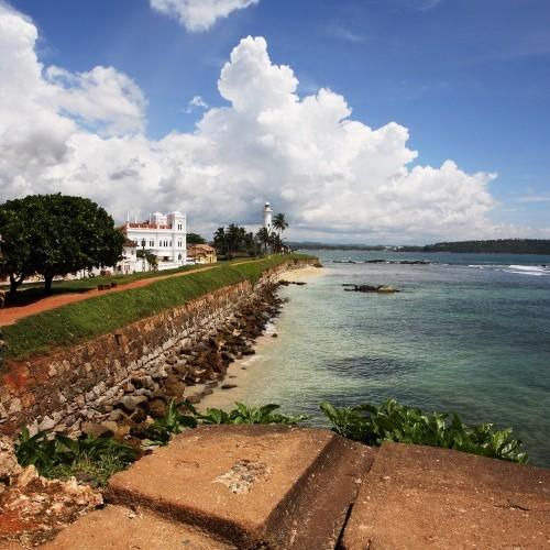 Gateway to the south, Galle, Sri Lanka