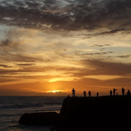 Sunset on the ramparts, Galle, Sri Lanka