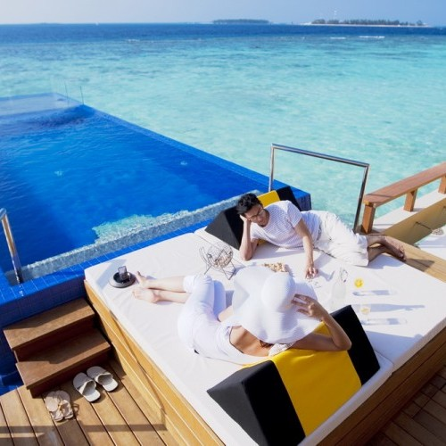 Water villas in Maldives are perfect for honeymoons