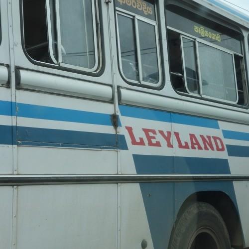 Lanka Ashok Leyland bus, Colombo