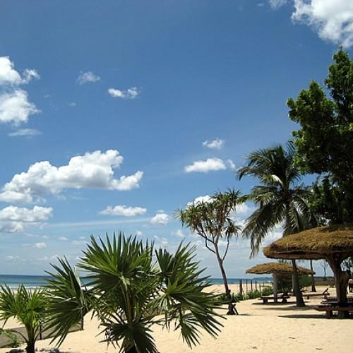 Nilaveli beach north of Trincomalee, East Coast, Sri Lanka