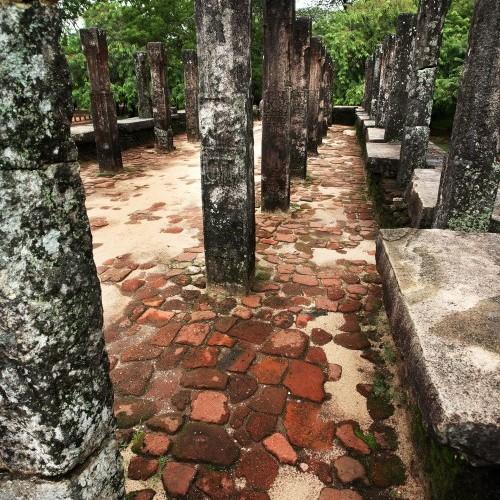 Parakramabahu's Audience Hall, Royal Palace, Polonnaruwa, Sri Lanka