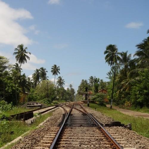 Railway track, Sri Lanka