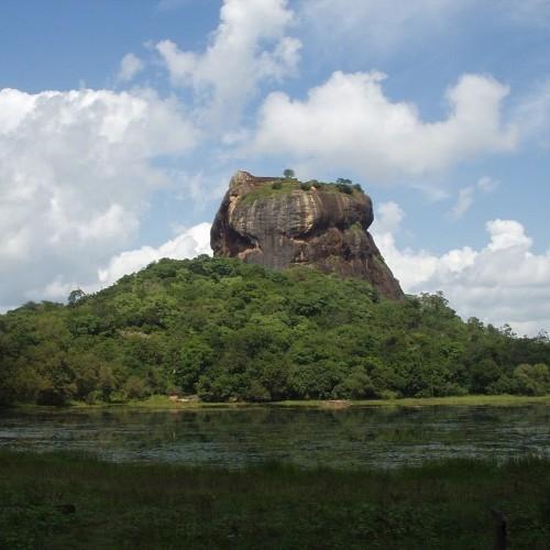 Lion Rock, Sigiriya, Cultural Triangle, Sri Lanka