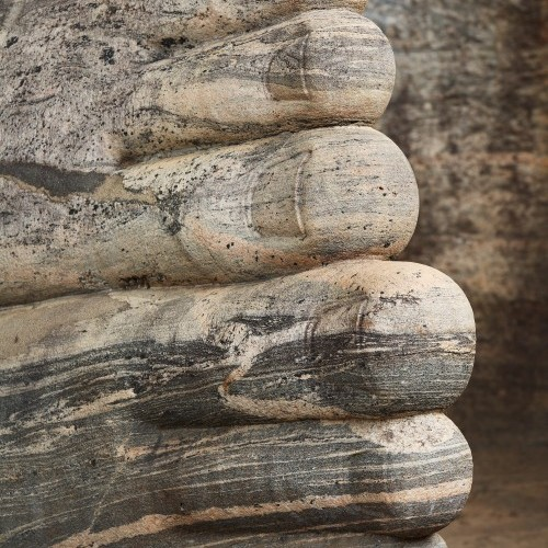Toes of the reclining Buddha statue at Gal Vihara, Polonnaruwa, Sri Lanka