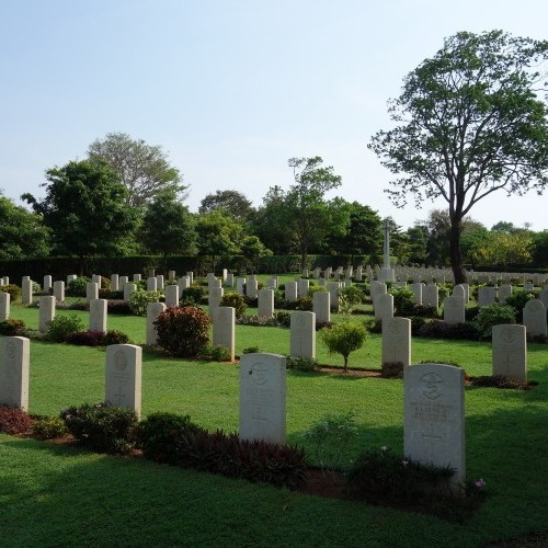 Allied war cemetery, Trincomalee, Sri Lanka
