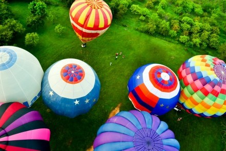 Enjoy an adventure on a hot air balloon flight, Heritance Kandalama, Sri Lanka