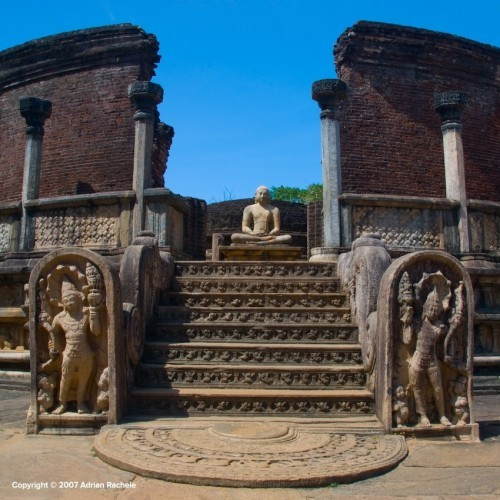 Vatadage, Quadrangle, Polonnaruwa, Sri Lanka