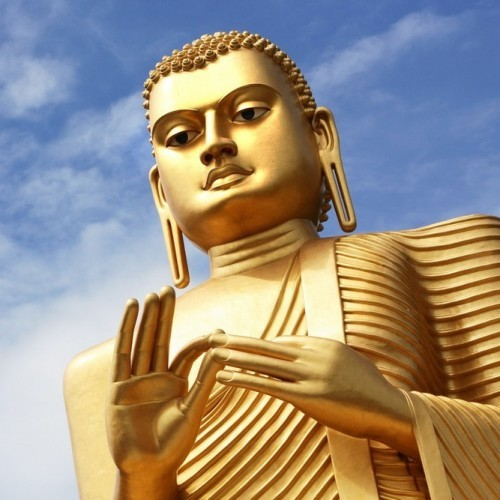 Golden Buddha, Dambulla cave temples, Sri Lanka