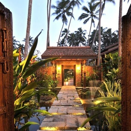 Entrance to Reef Villa, Wadduwa, Sri Lanka